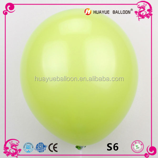 wholesale helium 12 inch latex balloon for advertising