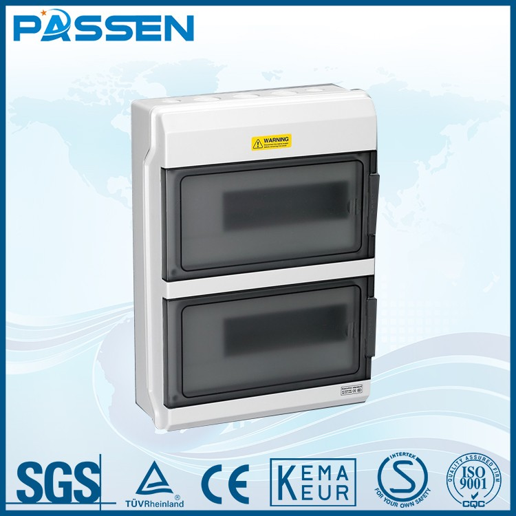 PASSEN waterproof portable plastic electrical power distribution box