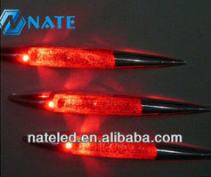 New inventions Car Shark Fin Style LED Warning Flashing Tail Light