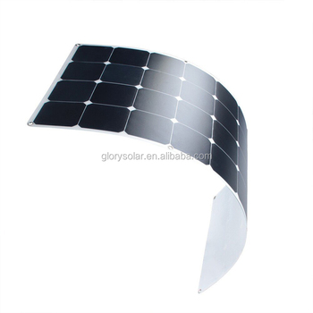 High Efficiency100 Watt Sunppower Solar Panel Semi