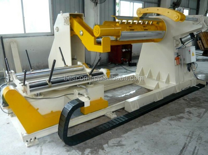 3,6,10,15 Tons Heavy Hydraulic Uncoiler,Decoiler for Coil