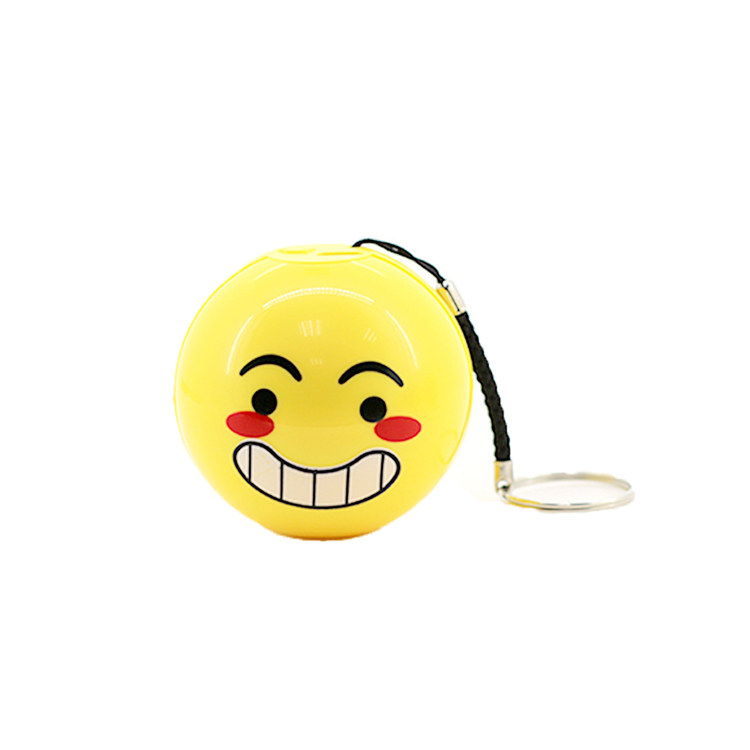Smile Face Emoji Blue Tooth Portable Mini Wireless Speaker With Gift