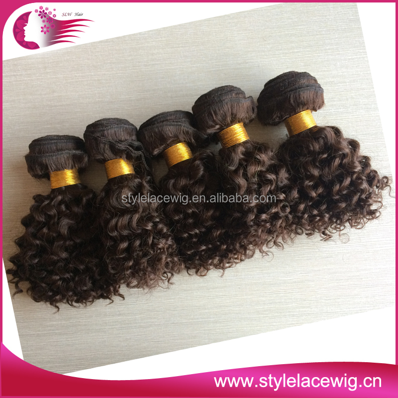 Most popular full cuticle natural color human hair 27 piece hair weave