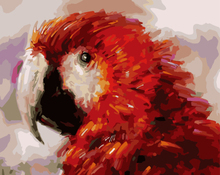 GX8214- 40*50 Wholesale painting paint by numbers for bird picture design decorations