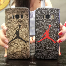 Full Body Protective Case Jordan design for Samsung Galaxy S8 Case