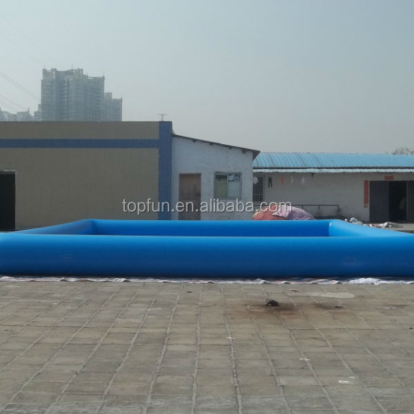 2014 newest Large blue inflatable odoor swimming pool