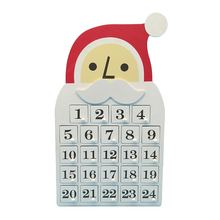 New Product Exquisite Design Wooden Christmas Calendar