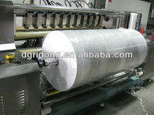 FTJ-020 automatic ultrasonic machine manufacturer for blinds fabric rolls vertical slitting
