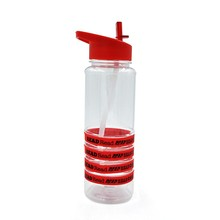 High Quality Eco-Friendly Clear Portable Outdoor Sports Drinking Plastic Travel Bottles