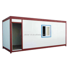comfortable prefabricated living 20ft container house