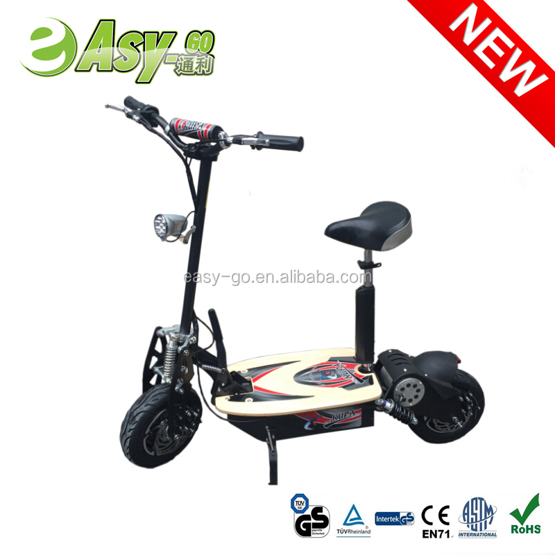 2016 hot selling 2000w hub motor wheel electric scooter pass CE certificate