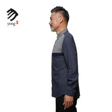 High Grade Urban Nobles Soft Checked Long Sleeve Shirt For Men Clothing