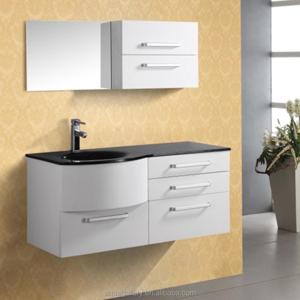 A muro solido legno commerciale mobiletto del bagno - Mobiletto del bagno ...