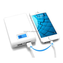 Digital Screen Genius Power Bank 10400mah Universal Portable Power Bank Dual USB Portable Mobile Power
