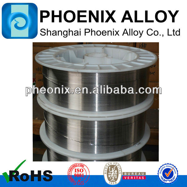 Nickel alloy mig welding materials ERNiCrMo-3,ERNiCu-7,ERNiCrFe-3