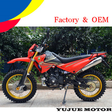 2016 popular 250cc dirt bike automatic/off road motorcycle/off road motorcycle with competitive price