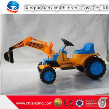 High quality best price kids indoor/outdoor sand digger battery electric ride on car kids construction toy truck excavator