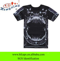 Fashion style 2013 custom cotton black sun wear t-shirt