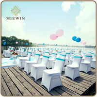 Disposable folding chair cover