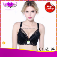 vibrating breast care massager fabric for sport bra massage bra for big breast