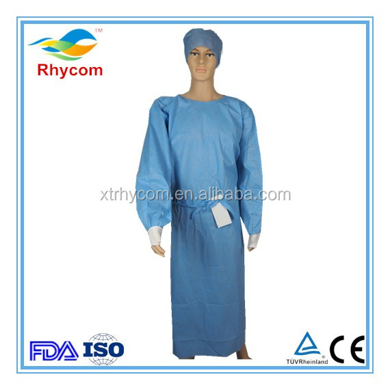 Medical supply miami Xiantao factory munufacturer medical doctor gowns