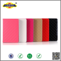 colorful leather flip cover for ipad pro 12.9 tablet case built in card slot
