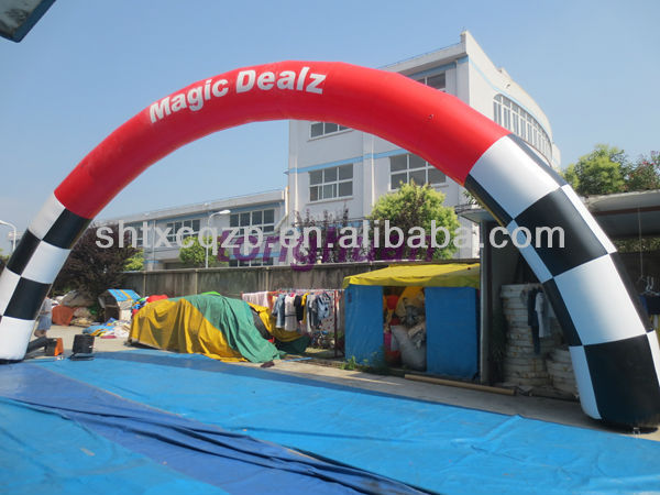 2014 factory supply inflatable advertising arch