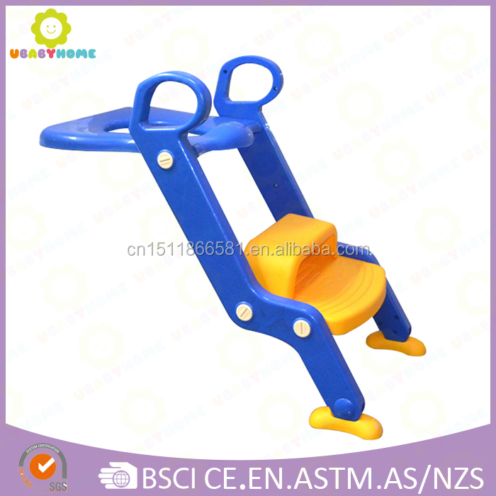 Baby Kids Toilet Training Step Stool Toilet Trainer Potty Chair Ladder Cushion baby potty