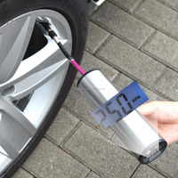 12 volt Tire Pressure Detection digital emergency tire inflator electric balloon pump tire