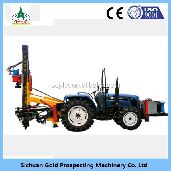 YGT-90 Hydraulic type anchoring drill machine rig for national defense use hot sale mining drill