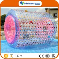 New design special colorful inflatable water walker roller water roller and swimming pool