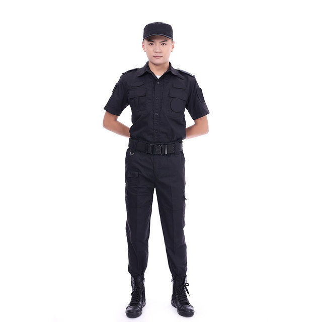 100% cotton Male Security Guard Uniforms Military Clothing Factories In China