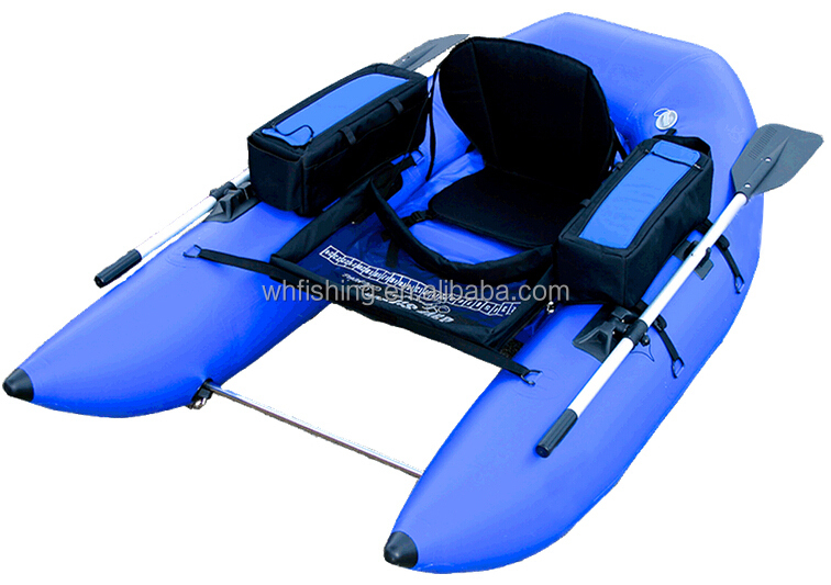 American belly boat inflatable float tube double balloon fishing boat