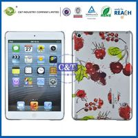 C&T Glossy fruit print durable housing case and cover for ipad mini