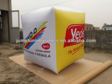inflatable helium cube,advertising helium balloon