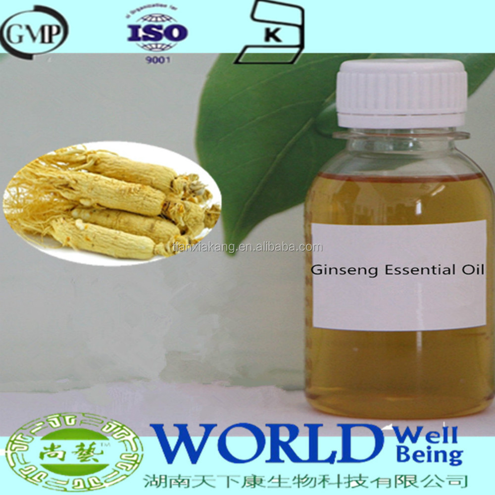 GMP Factory Hot Selling Free Sample Pure Ginseng Essential Oil Ginseng Extract For Cosmetic Ginseng Root Oil