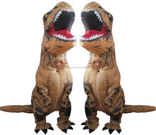 Giant t-rex dinosaur inflatable costume children Jurassic park dinosaur giant t-rex dinosaur inflatable costumes for kids
