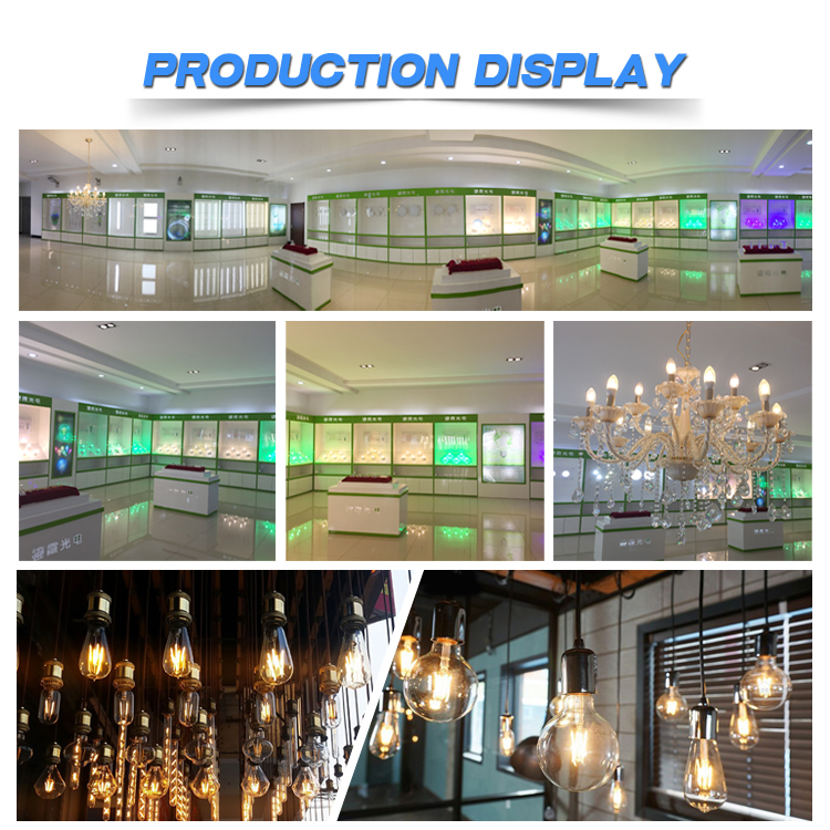 Hot sale led filament factory E14 E27 candle light C35 filament led bulb