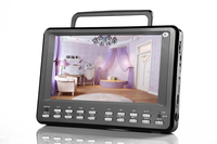 factory direct 9 inch mini tv with fm radio and dvd player