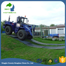 oil drilling rig mats/hdpe plastic road plate/uhmwpe plastic road plates