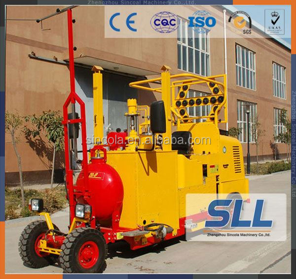 China Advanced Road Marking Paint Machine/Road Line Marking Machine/Thermoplastic Road Marking Machine manufacture
