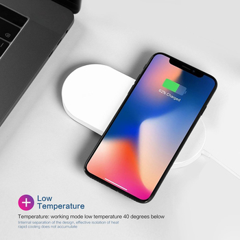Firenew OEM/ODM Supplier QI Certified chargers 5/10W Fast wireless charger for Iphone 8 for Iphone X watch