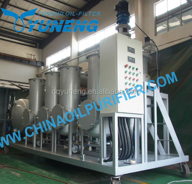 Used Car Motor Oil Distillation or Waste Engine Oil Recycling Oil Cleaning Machines Manufacture
