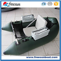 PVC material fat cat float tube Inflatable belly boat for fishing