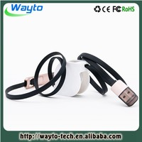 Retractable USB Data Cable For iPhone and Micro 2 in 1 cable