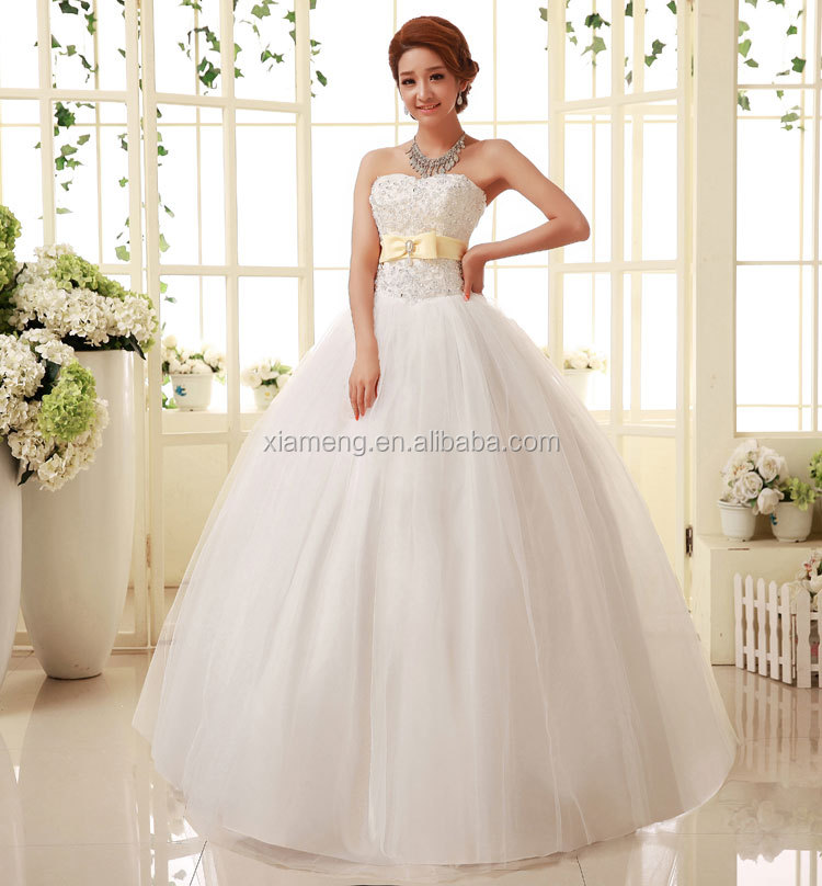 2015 factory price wholesale alibaba adult wedding dress