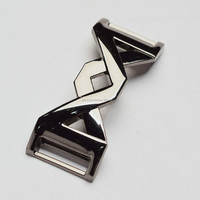 New Arrival Polished Sporty Shoe Buckle