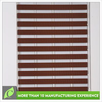 Good quality Luxury Day night sunscreen fabric blind