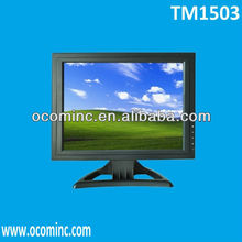 TM1503 --- 15Inch Steady Stand Industrial LCD Monitor Composite Input