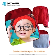 Factory wholesale sublimation backpack for children